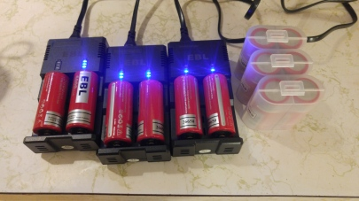 Batteries-LION-26650-OnChargers